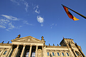 The Reichstag, German Parliament, Berlin, Germany