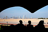 View from the Camel Race Course, Dubai, United Arab Emirates, UAE