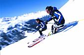 Carving-Skitest, Obergurgl, Oetztal Sports