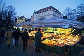 Viktualienmarkt, Muenchen, Bayern Deutschland