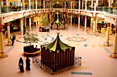 People at Wafi Shopping Center, Dubai, UAE, United Arab Emirates, Middle East, Asia
