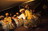 Tänzer in Bonaire, ABC Inseln, Niederländische Antillen, Antillen, Karibik