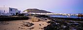 Port, Caleta del Sebo, La Graciosa, little Island beside Lanzarote, Canary Islands, Atlantic Ocean, Spain