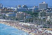 Strand, El Arenal, Playa de Palma, Mallorca Balearen, Spanien, Europa