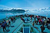 Rhapsody of the Seas, Hubbard Glacier, Glacier Bay Alaska, USA, Amerika
