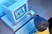 Computerkurs fuer Kinder, Futurekids, Muenchen 1998 Bayern, Deutschland