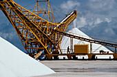 Salzkristallationsanlage Akzo Nobel, Bonaire Niederlaendische Antillen