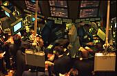 Boerse, Stock Exchange, Manhattan, New York USA, Amerika