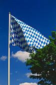Bavarian Flag, Munich, Bavaria, Germany