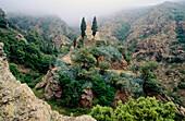 Pilger-Kirche der Madonna von Montserrat, Elba, Toskana, Insel, Mittelmeer, Toskana, Italien