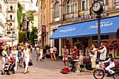 People in the pedestrian area, Baden-Baden, Baden-Wuerttemberg, Germany, Europe