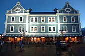 Bars and restaurants at the Victoria & Alfred Waterfront, Cape Town, South Africa, Africa