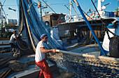 Fischerhafen, Santa Pola, Provinz Alicante, Com. Valenciana Spanien, Europa