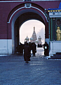 Gate to Red Square, Moscow Russia