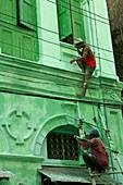Colonial architecture, Yangon, Koloniale Architektur, Rangun, Yangon