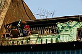 Detail, colonial architecture, Yangon, Koloniale Architektur, Rangun, Yangon