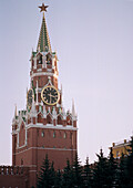 Bell tower of the Kremlin, Red Square, Moscow, Russia