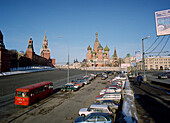 View onto Red Square, Moscow, Russia