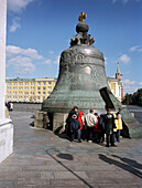 The Tsar's bell, Kremlin Moscow