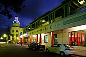 Evening, Marine Parade, Napier, NZ, Napier is the Art Deco city on Hawkes Bay North Island New Zealand