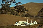 Te Mata winery and house, Havelock, House by architect Ian Athfield, Hawkes Bay, North Island, New Zealand
