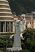 Beehive, Government buildings, Parliament Buildings, Wellington