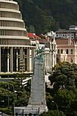Beehive, Government buildings, Parliament Buildings, Wellington