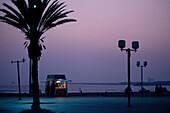 Kiosk, ocean walk, Agadir, Morocco