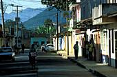 Street of Coatepec, Veracruz Mexico