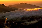 Sri Papda Adam Peak, , Sunset, Highlands, Central Provinz Sri Lanka