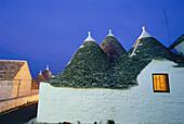 Trulli Houses, Zona monumentale, Rione Monte, Alberobello Apulia, Italy