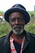 African Man, Virunga Mountains, Zaire