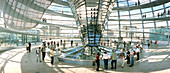 Glass cupola of the Reichstag, Glass Cupola of the Reichstag, Sir Norman Foster, Berlin