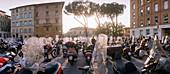 Motorbikes, Lucca, Tuscany Italy