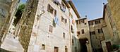 Backyard, Certaldo, Tuscany, Italy