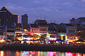 Boat Quay, Restaurants and Bars, Singapore River Singapore, Asia