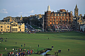 Royal and Ancient Golf Club, University and golf town, Fife, Scotland