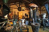 antiques for sale, shop, L'Isle-sur-la-Sorgue, Provence, France