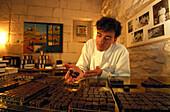 Chocolatier Joel Durand, Saint Rémy de Provence, Provence, France