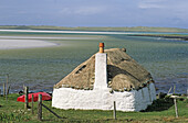 croft cottage, Isle of North Uist, Outer Hebrides, Scotland, GB