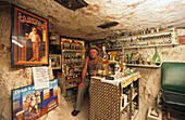 Underground Museum called Bush Moozeum at Lightning Ridge, opal settlement, New South Wales, Australia