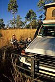 Four-wheel drive camping, Australien, outback, central Australia, Four-wheel drive off road camping