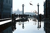 Flood, Aqua alta, Venice, Veneto Italy