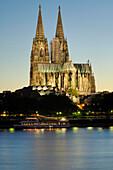 Cologne Cathedral, Rhein, Cologne, North Rhine-Westphalia, Germany