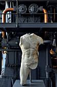 Antique sculpture, Museum Monte Martini, Rome, Italy