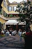 Restaurant II Salumaio, Via Montenapoleone, Mailand Lombardei, Italien