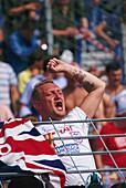 Fussballfan, Fussballspiel Holland-England 3:1