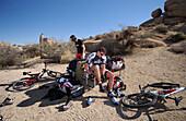 Mountainbike, Gooseberry Trail, Zion Nationalpark Springdale-Utah-USA