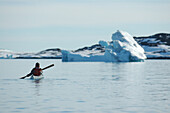 Kayaking, Ilimanaq, Greenland