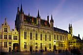 Rathaus, Stadhuis, Bruegge, Flandern Belgien